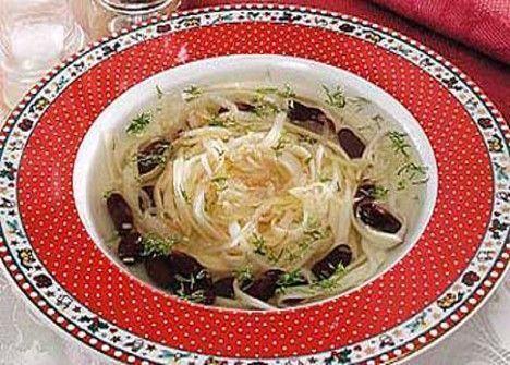 Суп с фасолью и лапшой рецепт