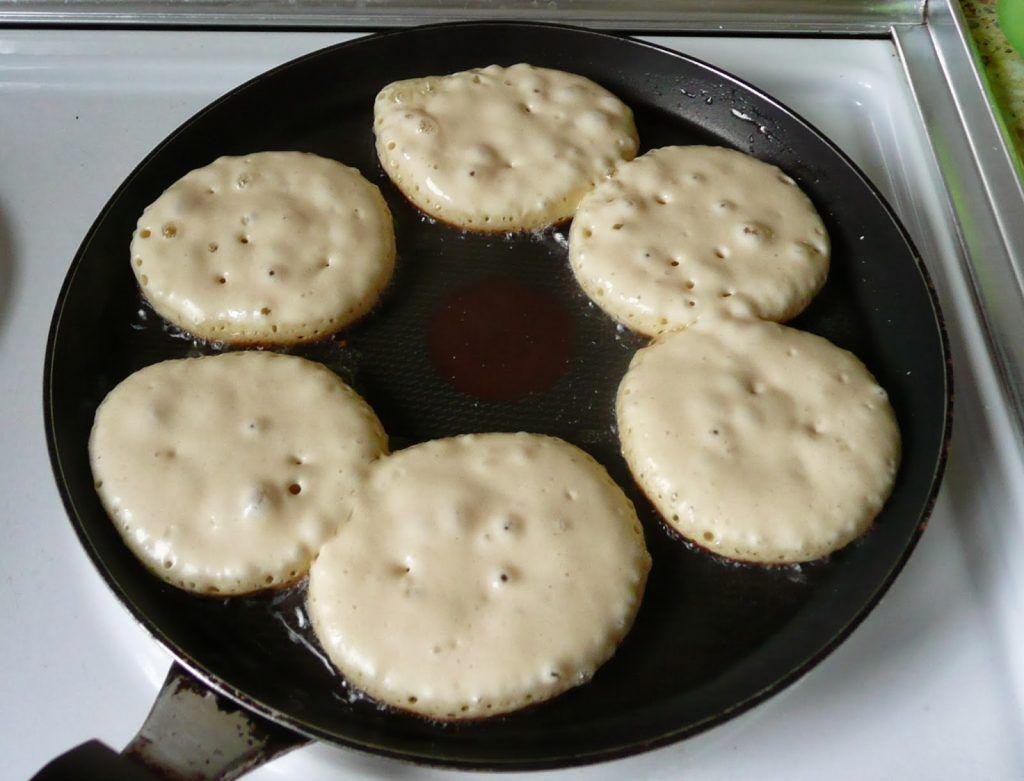 Рецепты оладий для плиты